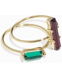 & Other Stories   Two-set Jewelled Rings   Lyst