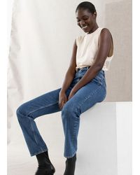 & Other Stories Favourite Cut Jeans - Blue