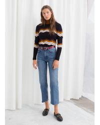 & Other Stories - High Cropped Flare Jeans - Lyst