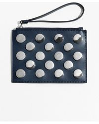 & Other Stories - Snap Studded Leather Pouch - Lyst