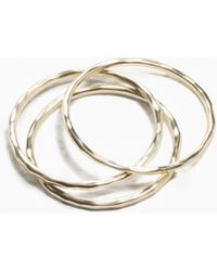 & Other Stories - Thin Ring Set - Lyst