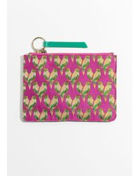 & Other Stories - Patterned Zipper Pouch - Lyst