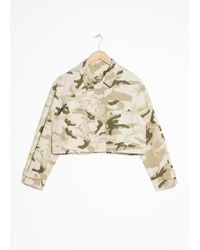 & Other Stories - Army Jacket - Lyst