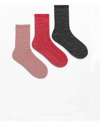 & Other Stories - Metallic Socks Gift Box - Lyst