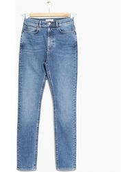 & Other Stories - Cropped High-rise Jeans - Lyst