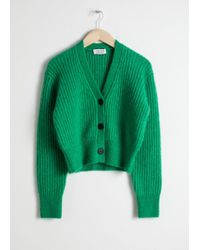& Other Stories - Wool Blend Cardigan - Lyst