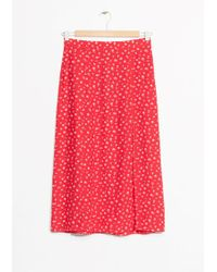 & Other Stories | Lengthy Skirt | Lyst
