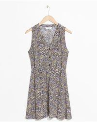 & Other Stories - Printed Skater Dress - Lyst