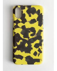 & Other Stories Tortoise Iphone Case