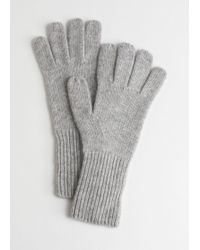 & Other Stories - Cashmere Gloves - Lyst