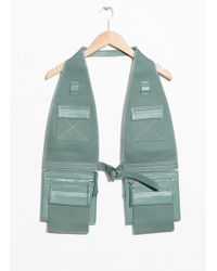 & Other Stories - Utility Body Vest - Lyst