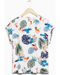 & Other Stories - Viscose Top - Lyst