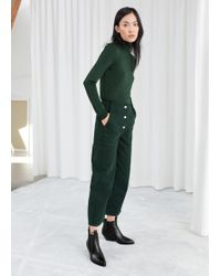 & Other Stories - Straight Fit Workwear Trousers - Lyst