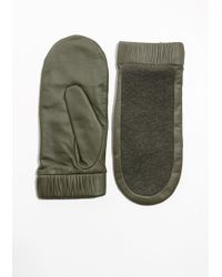 & Other Stories   Leather Mittens   Lyst