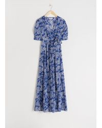 & Other Stories - Floral Print Maxi Dress - Lyst