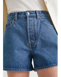 & Other Stories Forever Cut Jeans Shorts - Blue