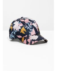 & Other Stories - Printed Satin Cap - Lyst