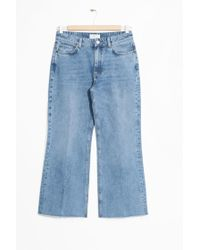 & Other Stories - Cropped Flare Jeans - Lyst