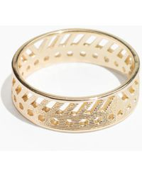 & Other Stories - Geo Cut Out Ring - Lyst