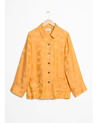 & Other Stories - Lounge Jacquard Shirt - Lyst