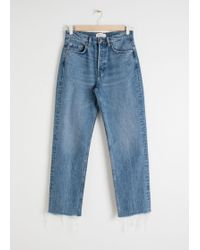 & Other Stories - Straight Mid Rise Jeans - Lyst