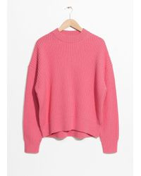 & Other Stories - Oversized Staright Jumper - Lyst