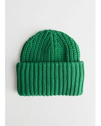 & Other Stories - Rib Knit Beanie - Lyst