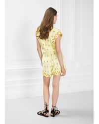08f353b89aa Lyst -   Other Stories Lounge Playsuit in Natural
