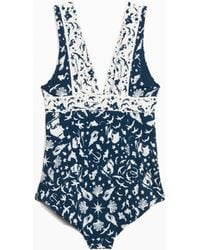 & Other Stories - V-neck Swimsuit - Lyst