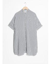& Other Stories - Oversized Shirt Dress - Lyst