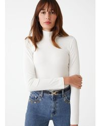 & Other Stories - Turtleneck Top - Lyst