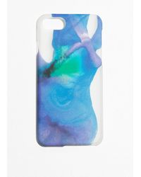 & Other Stories Watercolour Iphone Case - Blue