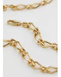 & Other Stories Chunky Chain Link Necklace - Metallic