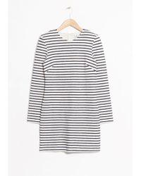 & Other Stories | Striped Mini Dress | Lyst