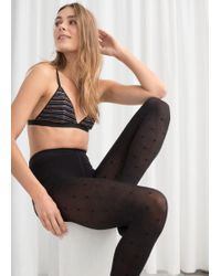 & Other Stories - Dot Tights - Lyst