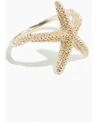 & Other Stories - Star Fish Ring - Lyst