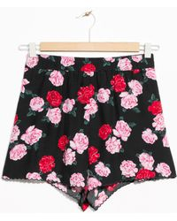 & Other Stories | Scallop Edge Shorts | Lyst