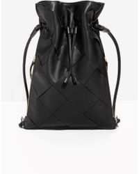 & Other Stories | Braided Leather Backpack | Lyst
