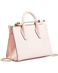 Strathberry The Nano Tote - Pink