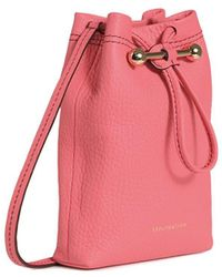 Strathberry Lana Osette Pouch - Pink