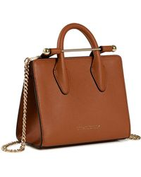 Strathberry The Midi Tote Bag - Brown