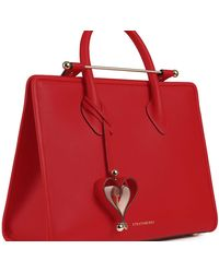 Strathberry Heart Charm - Red