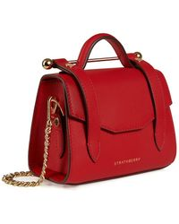Strathberry Allegro Micro - Red