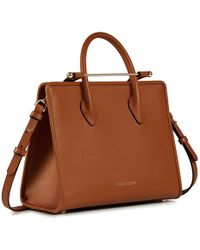 Strathberry The Midi Tote - Brown