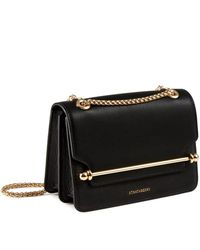 Strathberry East/west Mini - Black