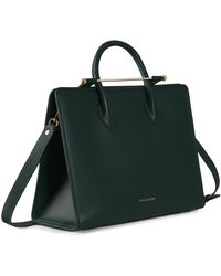 Strathberry The Tote - Black