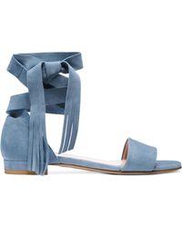 Stuart Weitzman The Corbata Sandal - Blue