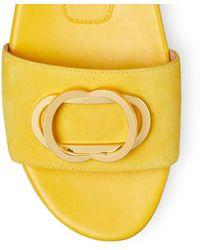 Stuart Weitzman The Caicos Sandal - Yellow