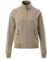 Baracuta G9 Womens Harrington Jacket - Natural Brcps0218bcny1818 Colou