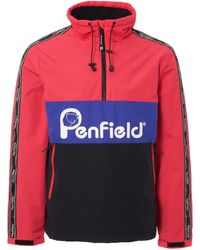 Penfield - Havelock Raspberry Popover Jacket - Mens Xl - Lyst